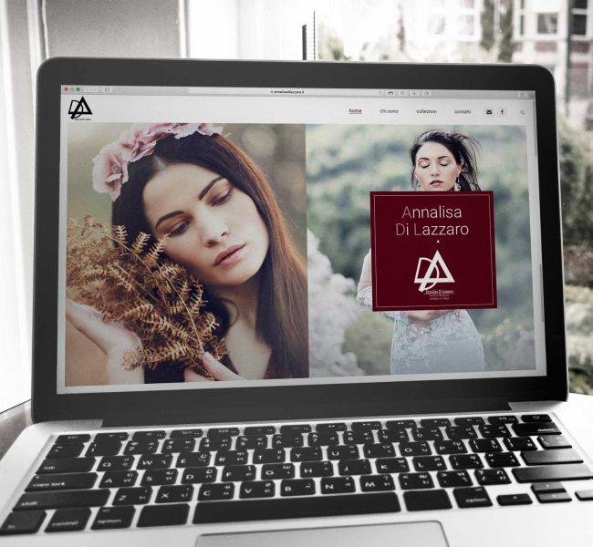 notebook con il sito annalisadilazzaro.it