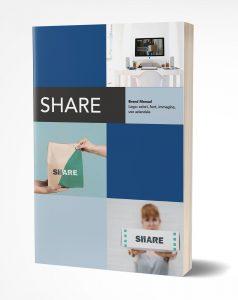 Share - progetto di Logo design - Manual