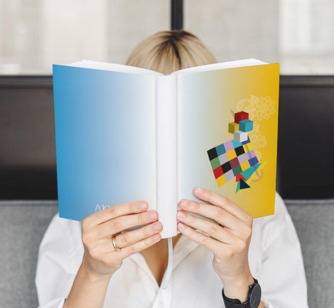 L'illustrazione per la copertina dell'Agenda 2020 © Roberta Coralluzzo
