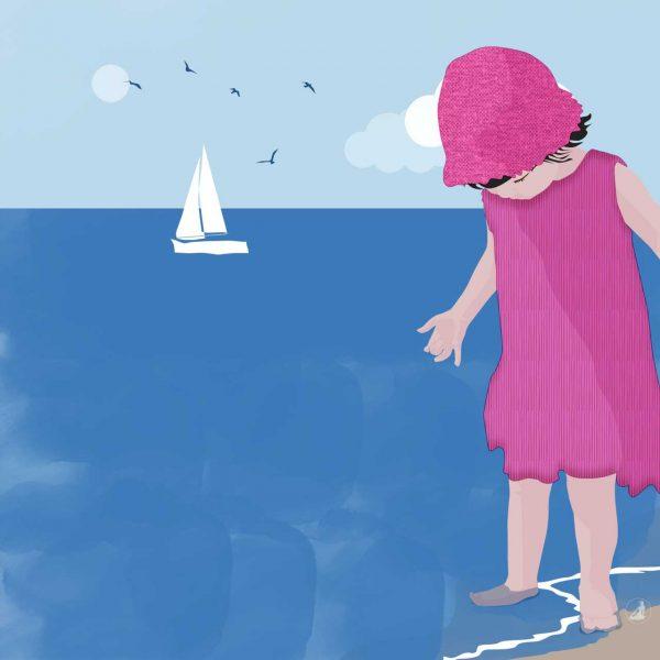 Bimba al mare © Roberta Coralluzzo alkestudio.it