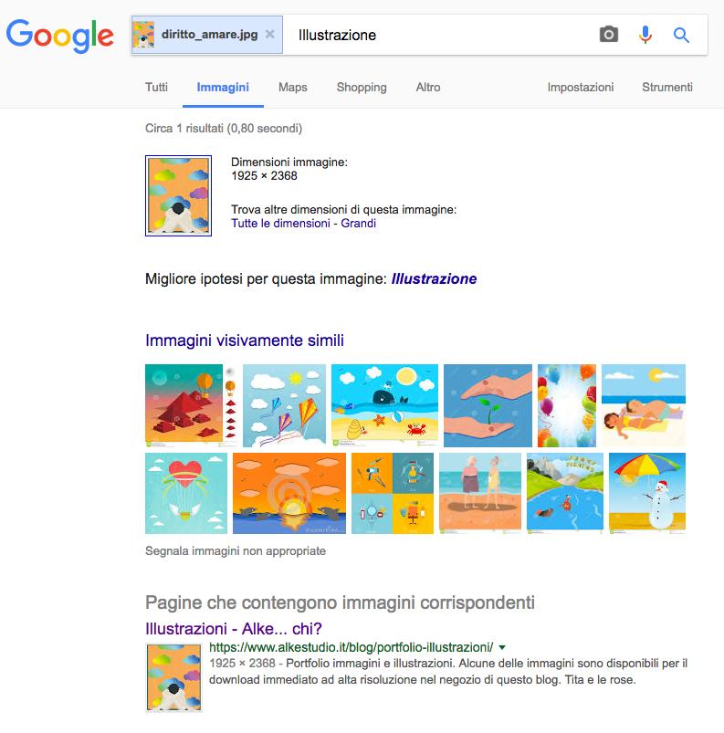 risultato Google Immagini