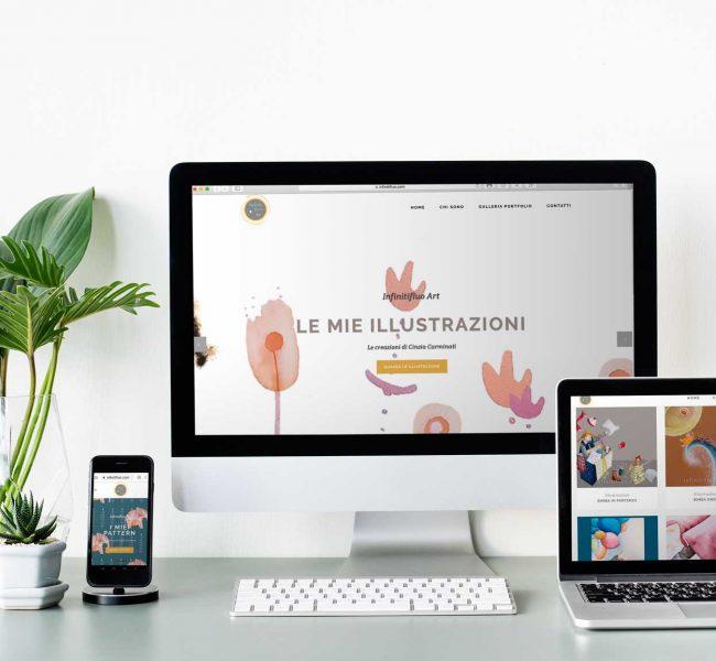 Infinitifluo da iMac e notebook