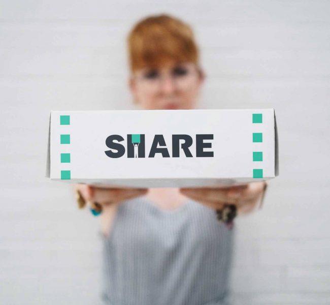 Share - progetto di Logo design - Consegne