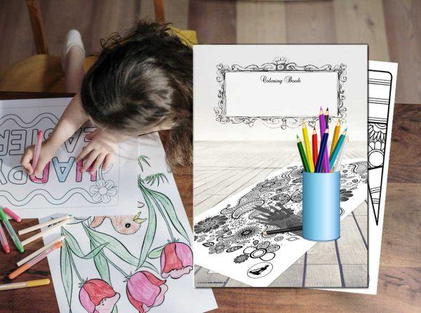 Coloring book - coloring © Roberta Coralluzzo