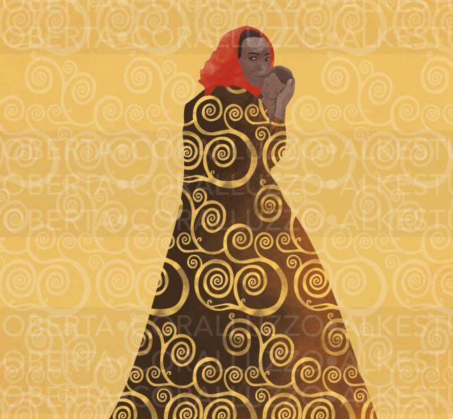 Natività, illustrazione © Roberta Coralluzzo alkestudio.it