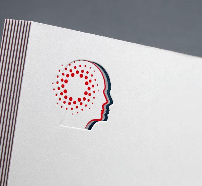Rocco De Filippo, psicologo - logo design © Roberta Coralluzzo